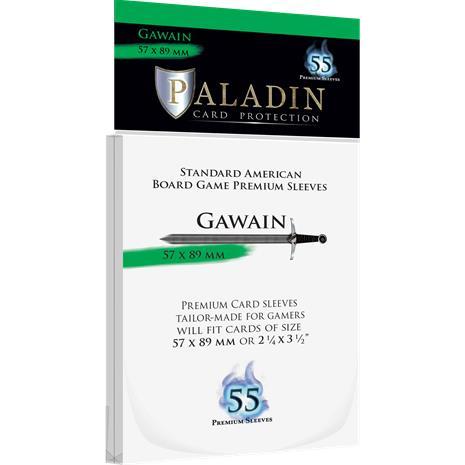 Paladin Board Game Sleeves 57x89mm (Size Gawain, 55ct)