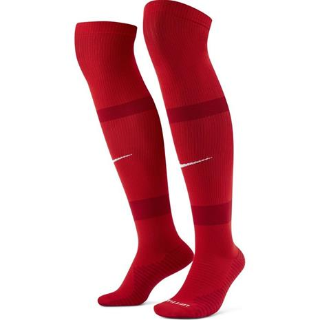 Nike Jalkapallosukat Matchfit Knee High - Punainen/Punainen/Valkoinen