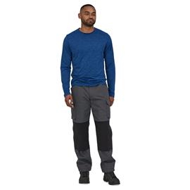 Patagonia M's Cliffside Rugged Trail Pants - Recycled PET and Nylon, Forge Grey / 34 / Regular