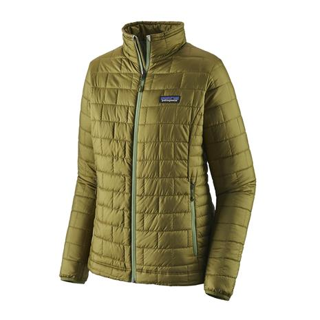 Patagonia Naisten Nano Puff® Toppatakki - Kierrätetty Polyesteri, Palo Green / L