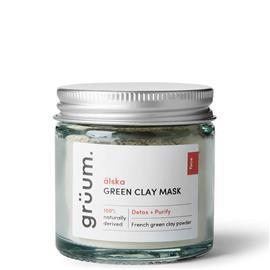 grüum älska Green Clay Face Mask 50ml