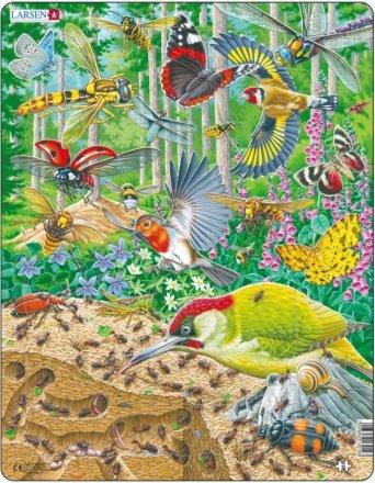Larsen Maxi Metsän eläimiä 36,5 x 28,5 cm palapeli