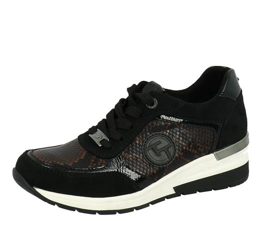 Tom Tailor naisten vapaa-ajan kengät, musta 38