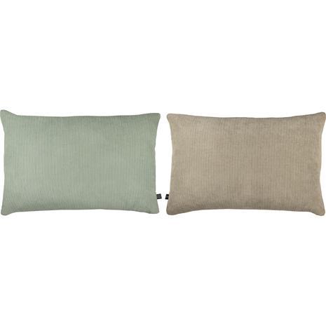 Mette Ditmer RIBBON Scatter Cushion 60x40 cm, Mint / Light Grey