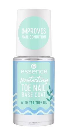 Essence Protecting Toe Nail Base Coat 8 ml aluslakka