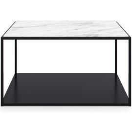 Decotique Marvelous Soffbord 83x83cm, Black/White Marble