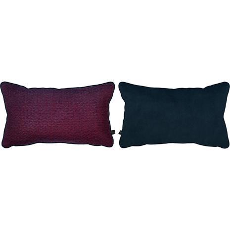 Mette Ditmer Atelier Scatter Cushion 50x30 cm, Aburgine / Dark Blue