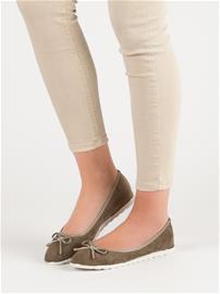 Naisten matalat kengät, vihreä W