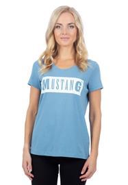 Mustang naisten T-paita ALINA, vaaleansininen 2XL