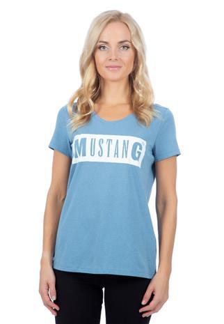 Mustang naisten T-paita ALINA, vaaleansininen XL