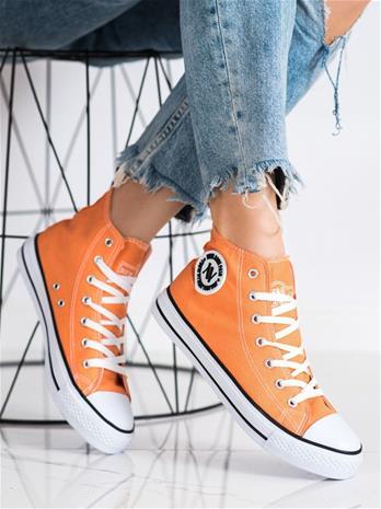 Naisten vapaa-ajan jalkineet, oranssi W