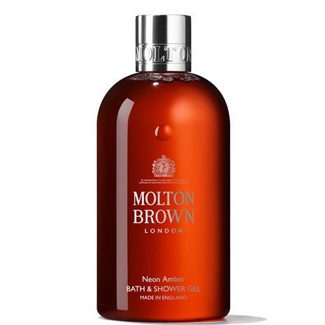 Molton Brown Neon Amber Bath and Shower Gel 300ml