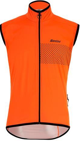 Santini Guard Nimbus Rainproof Vest Men, oranssi