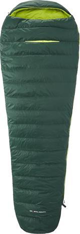 Y by Nordisk Tension Mummy 300 Makuupussi XL, vihreä