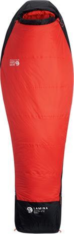 Mountain Hardwear Lamina Makuupussi -1°C Pitkä Naiset, punainen/musta
