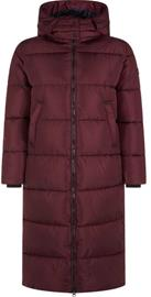Save The Duck Colette W Long Jacket Wine 3
