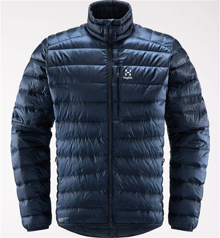 Haglöfs Roc Down Jacket Men Tummansininen XL