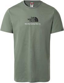The North Face New Climb Tee Laurel Green XL
