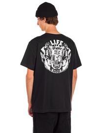The Dudes Life T-Shirt caviar Miehet