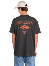 Rip Curl Fadeout Icon T-Shirt washed black Miehet