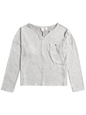 Roxy What A Time Longsleeve T-Shirt heritage heather Tytöt