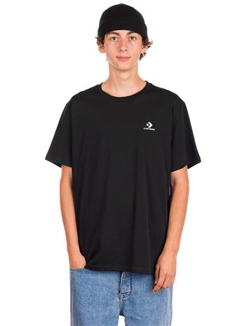 Converse Embroidered Star Chevron T-Shirt converse black Miehet