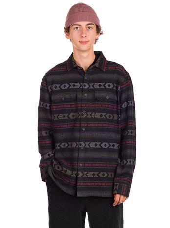 Billabong Offshore Jacquard Flannel Shirt black Miehet