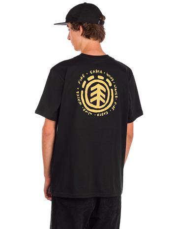 Element Casco T-Shirt flint black Miehet
