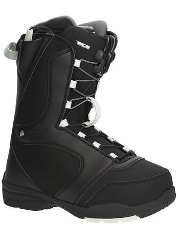 Nitro Flora TLS 2022 Snowboard Boots black / mint Naiset