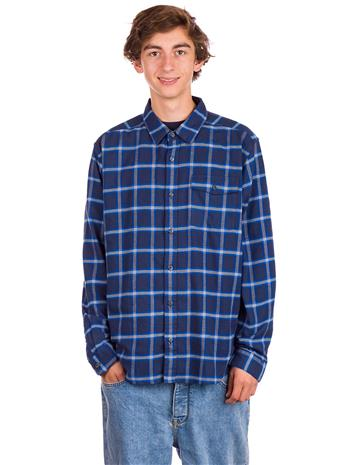 Patagonia LW Fjord Flannel Shirt grange / new navy Miehet