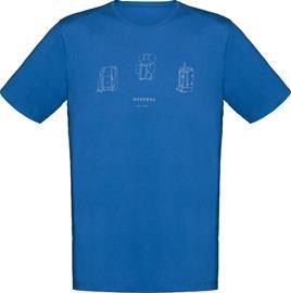 Norrøna /29 Cotton Heritage T-paita Miehet, sininen
