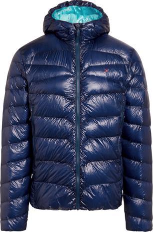 Y by Nordisk Stoke Ultralight Down Hooded Jacket Men, sininen