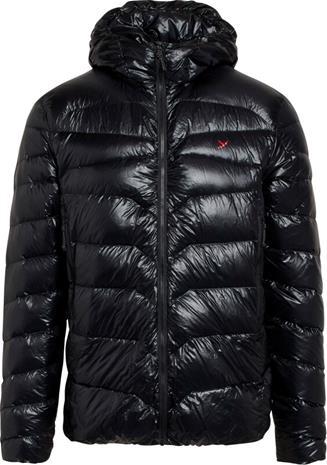 Y by Nordisk Stoke Ultralight Down Hooded Jacket Men, musta