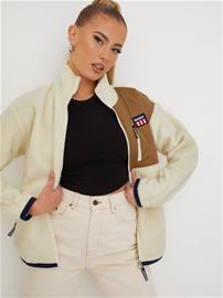 Gant D2. Gant Retro Logo Fleece Jacket