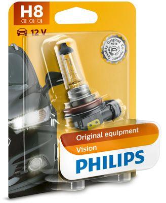 Hehkulankapolttimo, H8, Philips