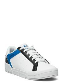 adidas Originals Court Tourino Matalavartiset Sneakerit Tennarit Valkoinen Adidas Originals FTWWHT/CBLACK/SHOBLU