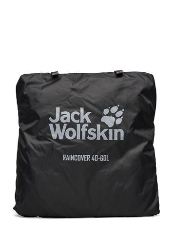 Jack Wolfskin Raincover 40-60l Reppu Laukku Musta Jack Wolfskin PHANTOM