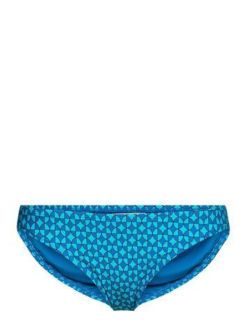 Michael Kors Swimwear Geo Print Classic Bikini Bottom Swimwear Bikinis Bikini Bottoms Bikini Briefs Sininen Michael Kors Swimwear CYAN BLUE