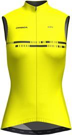 Orbea Advanced Windbreaker Gilet Women, keltainen