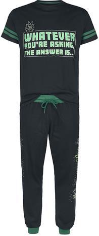 Rick And Morty - I'm Amazing - Pyjama - Miehet - Musta