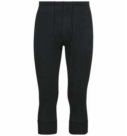 Odlo Men's ACTIVE WARM ECO 3/4 Base Layer Pants Musta L