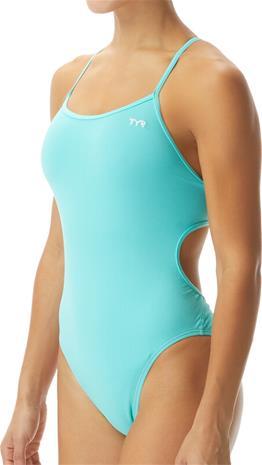 TYR Solid Durafast One Trinityfit Swimsuit Women, turkoosi, Naisten uimapuvut ja bikinit