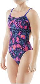TYR Spirit Fire Tetrafit Swimsuit Women, harmaa/vaaleanpunainen