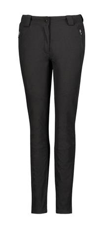 Five Seasons naisten softshell-housut SYLVIA, musta 36, Naisten housut ja shortsit