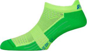P.A.C. BK 1.1 Bike Footie Zip sukat Miehet, vihreä