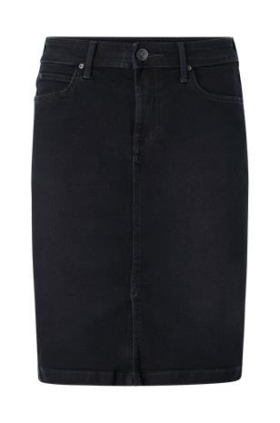 Lee - Farkkuhame Pencil Skirt - Musta
