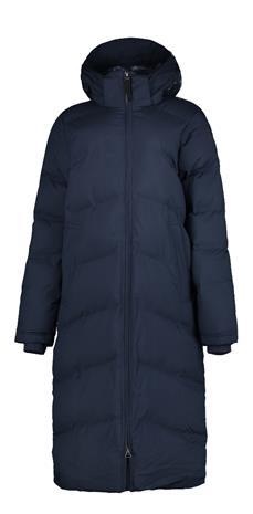 Icepeak naisten pitkä talvitakki AYR, tummansininen 34