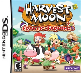 Harvest Moon - Frantic Farming, Nintendo DS -peli