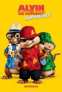 Alvin ja Pikkuoravat 3 (Alvin and the Chipmunks: Chipwrecked, Blu-Ray), elokuva