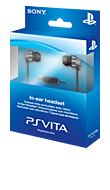 PlayStation PS Vita In-Ear, nappikuulokemikrofoni